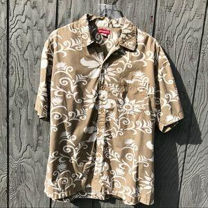 Unionbay top tropical Hawaiian resort Men's XL